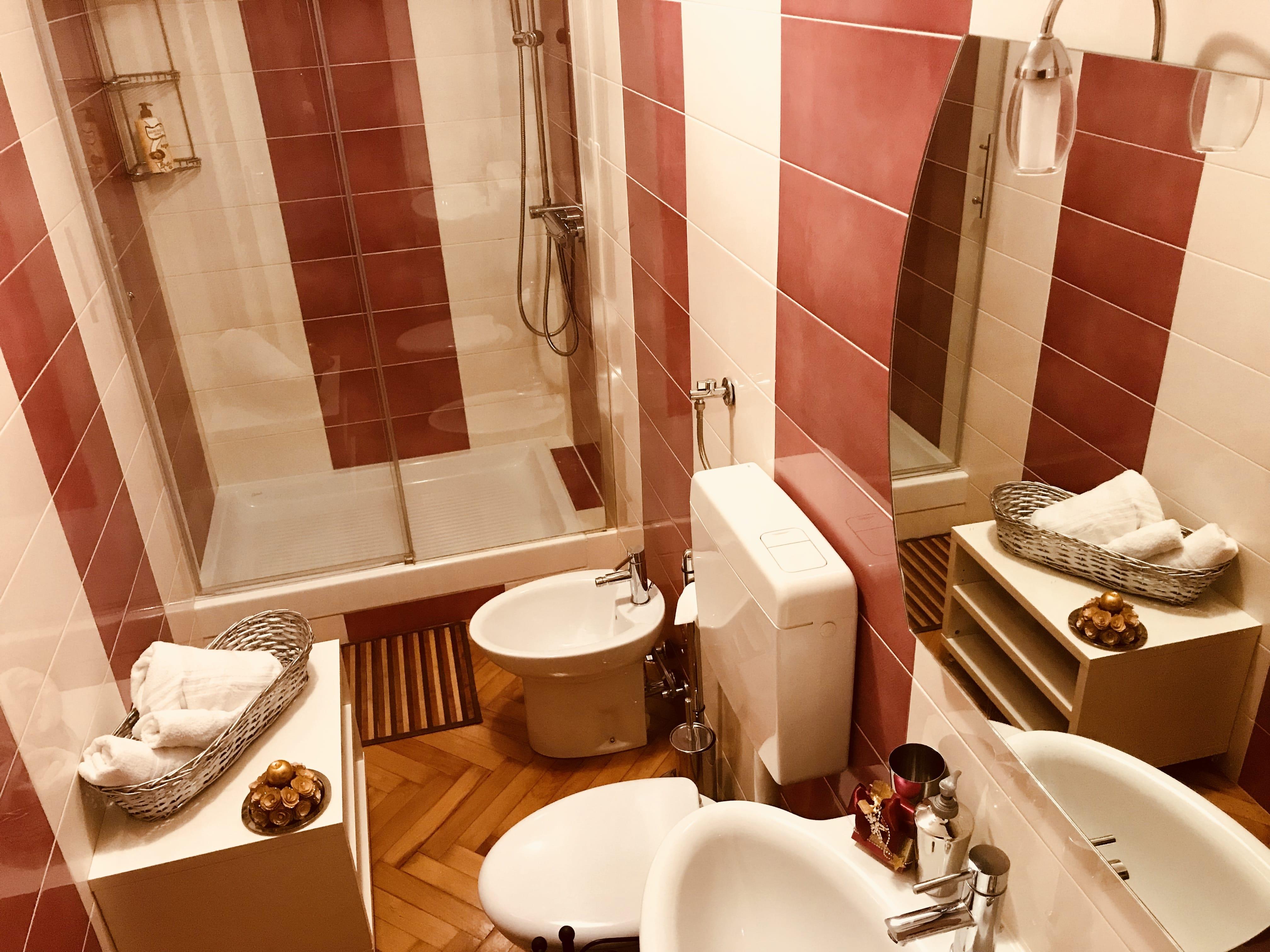 bagno stanza pesca tripla